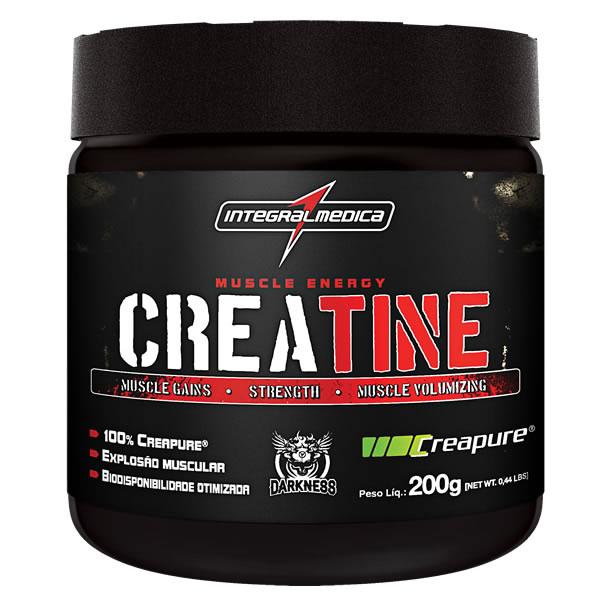 Creatine Creapure Darkness 200 g - Integral Médica
