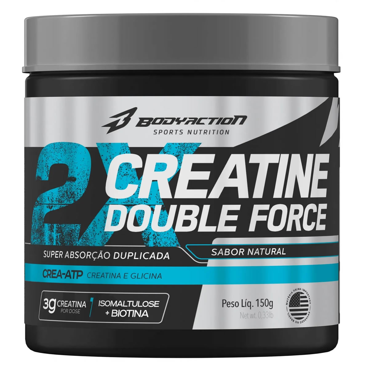 Creatine Double Force 150g - Body Action
