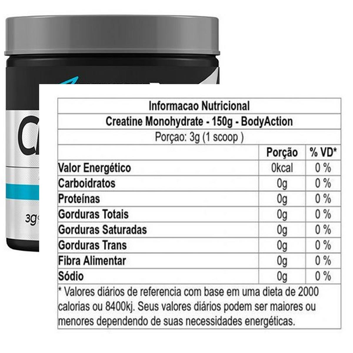 Creatine Monohydrate 150g - Body Action