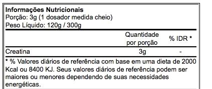Creatine Monohydrate 300 g - Atlhetica