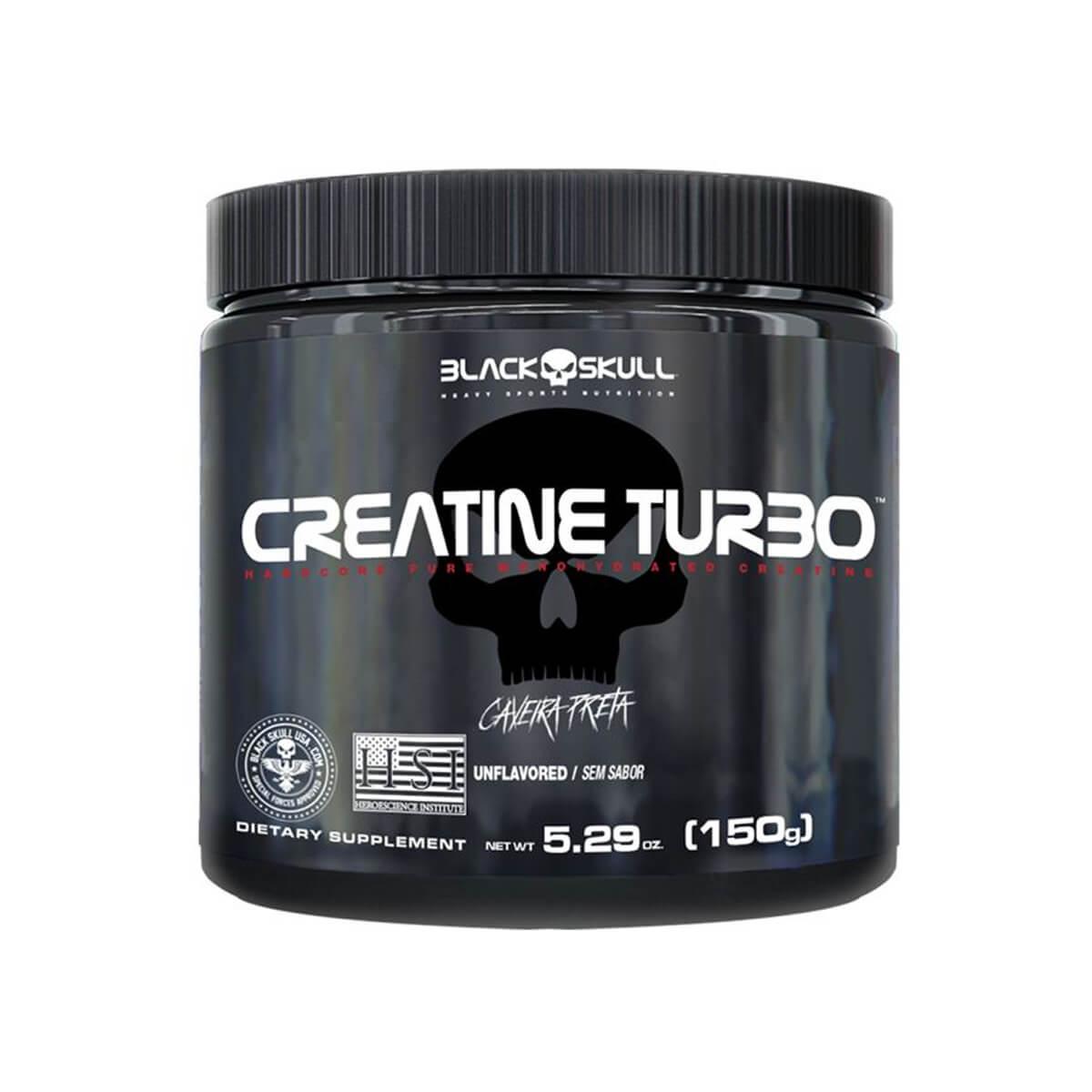 Creatine Turbo - 150g - Black Skull
