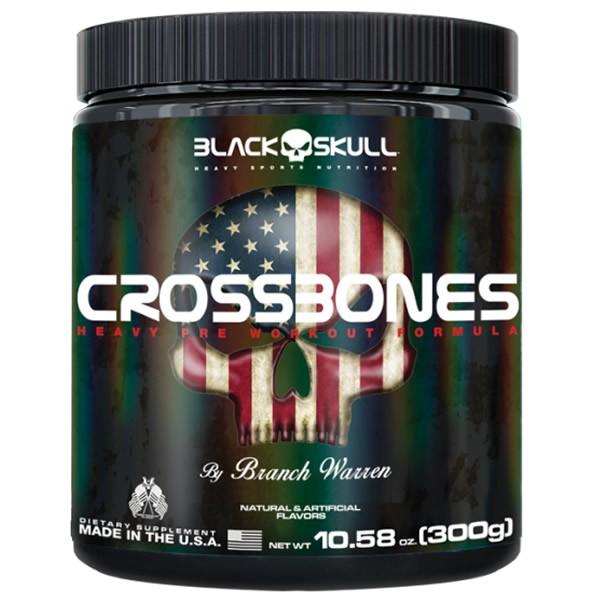 Crossbones 300 g - Black Skull