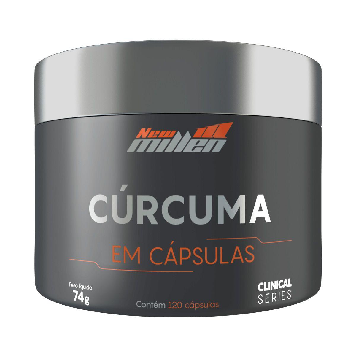 Cúrcuma - 120 Cápsulas - New Millen