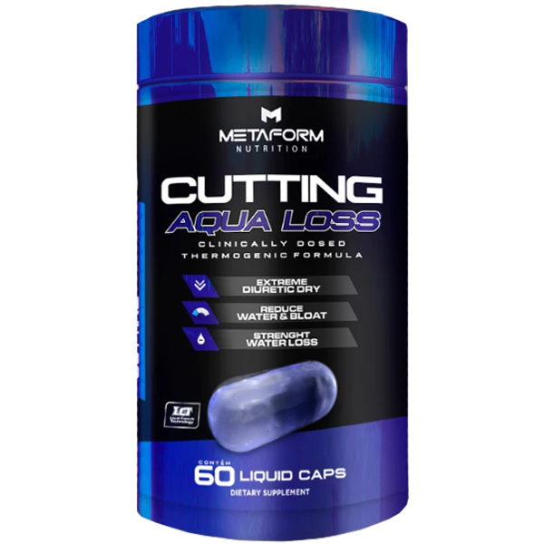 Cutting Aqua Loss 60 Cápsulas - Metaform Nutrition