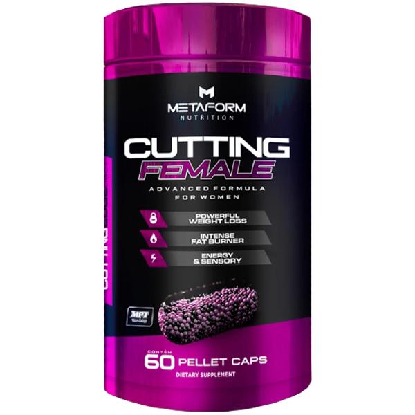 Cutting Female 60 Cápsulas - Metaform Nutrition