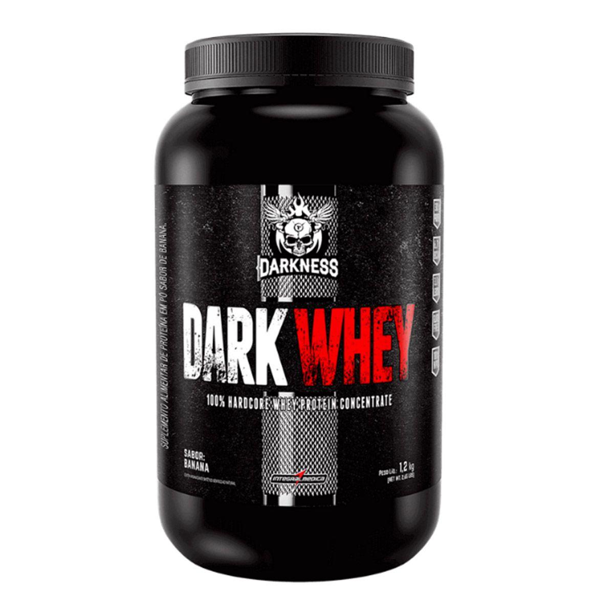 Dark Whey 100% 1,2Kg - Integralmédica