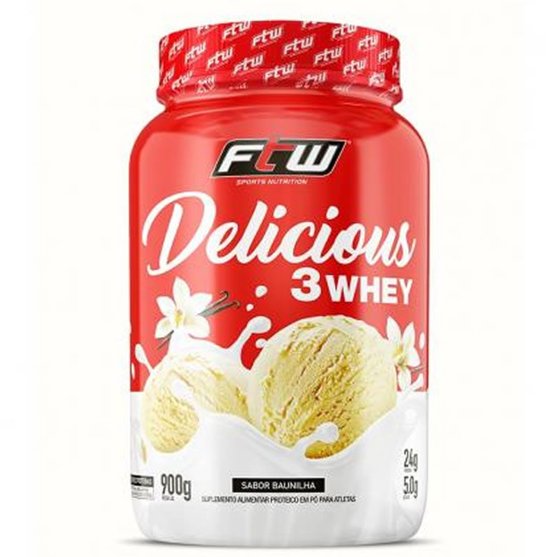 Delicious 3 Whey 900g - FTW