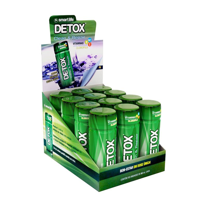 Detox Shot - 12 Unidades - Smart Life