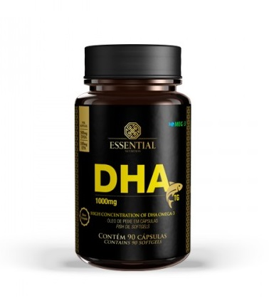 DHA 1000mg 900 Cápsulas - Essential Nutrition