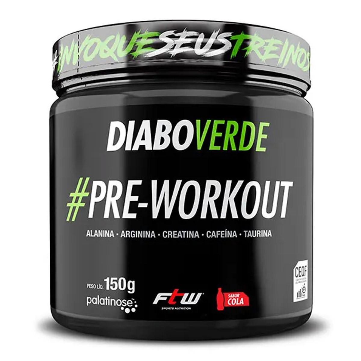 Diabo Verde #Pre-Workout 150g - FTW
