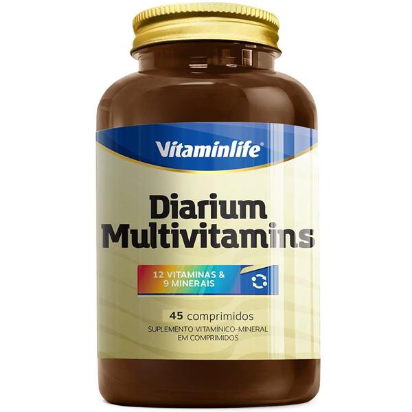 Diarium Multivitamins 45 cápsulas - Vitamin Life