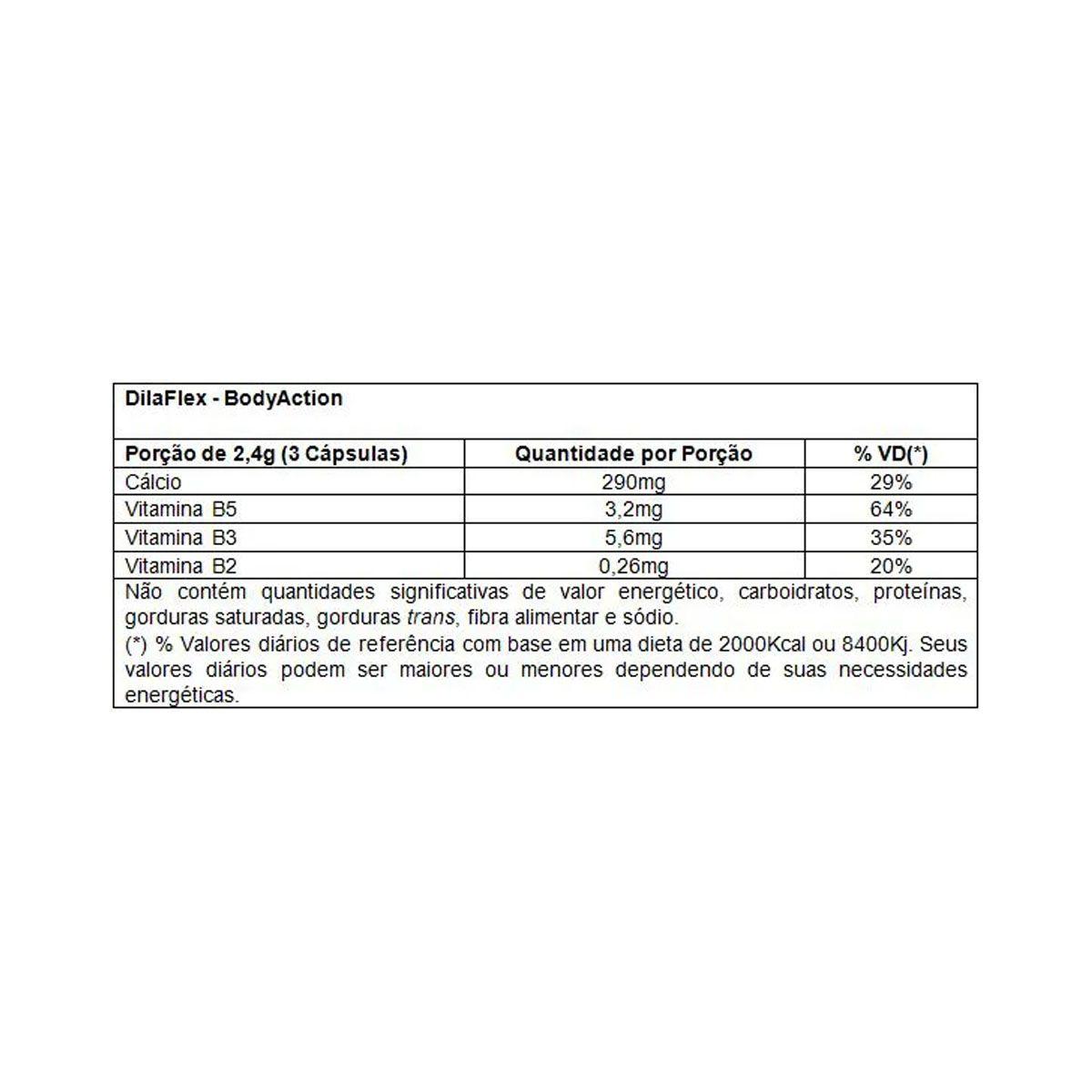 Dilaflex 90 Cápsulas - Body Action