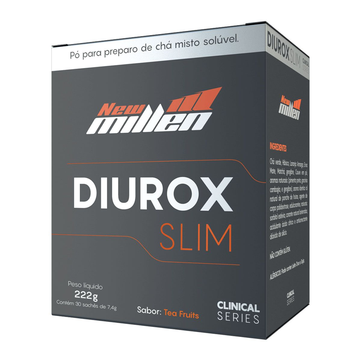Diurox Slim 30 sachês - New Milen