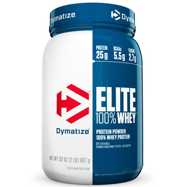 Elite 100% Whey Protein 907 g - Dymatize