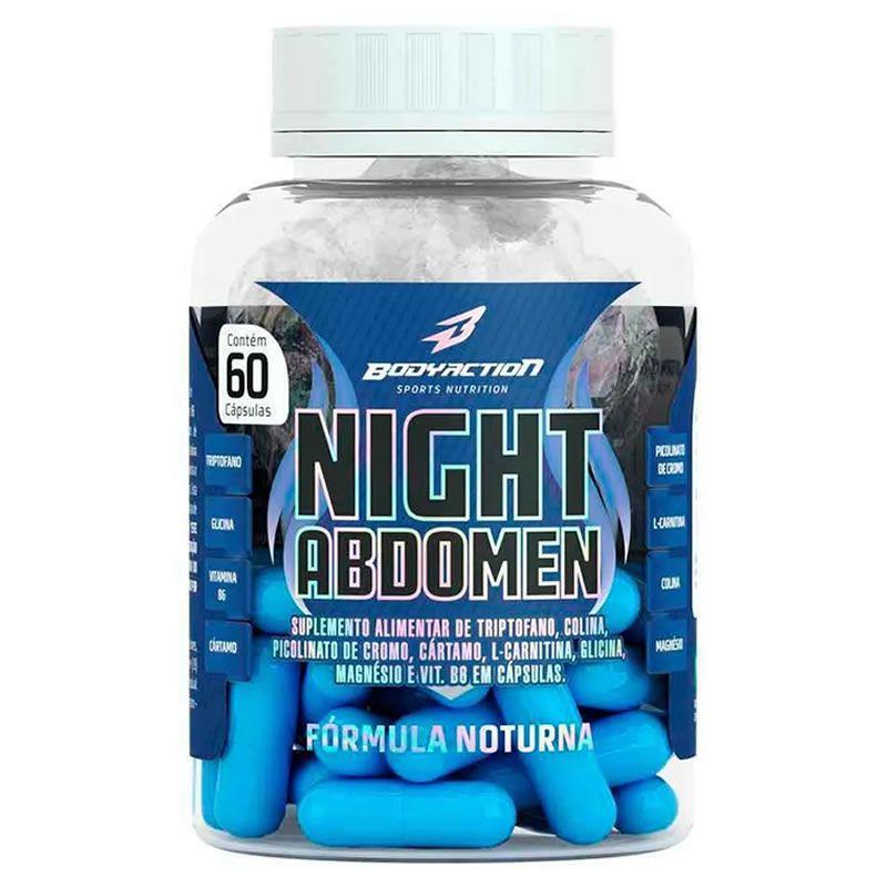 Night Abdomen 60 Cápsulas - Body Action