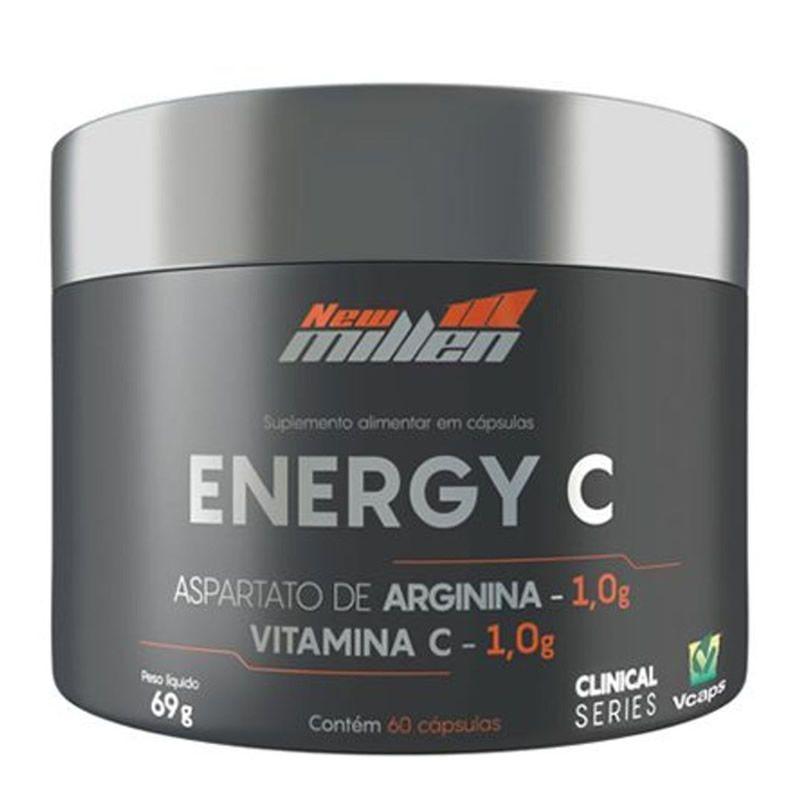 Energy C 60 Cápsulas - New Millen