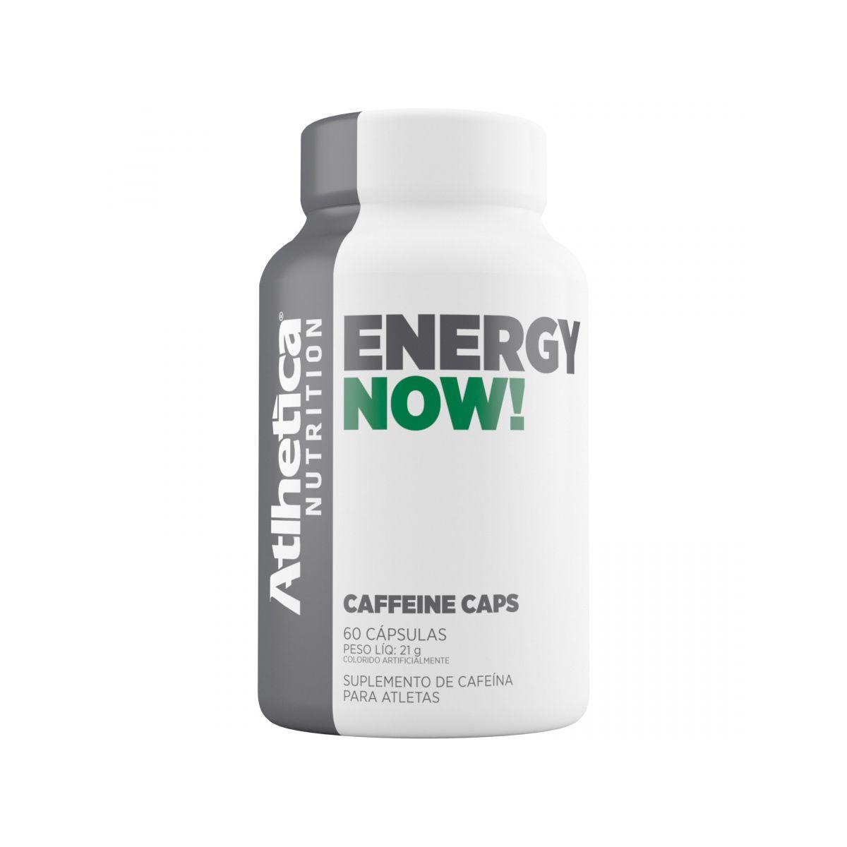 Energy Now - 60 caps - Atlhetica Nutrition
