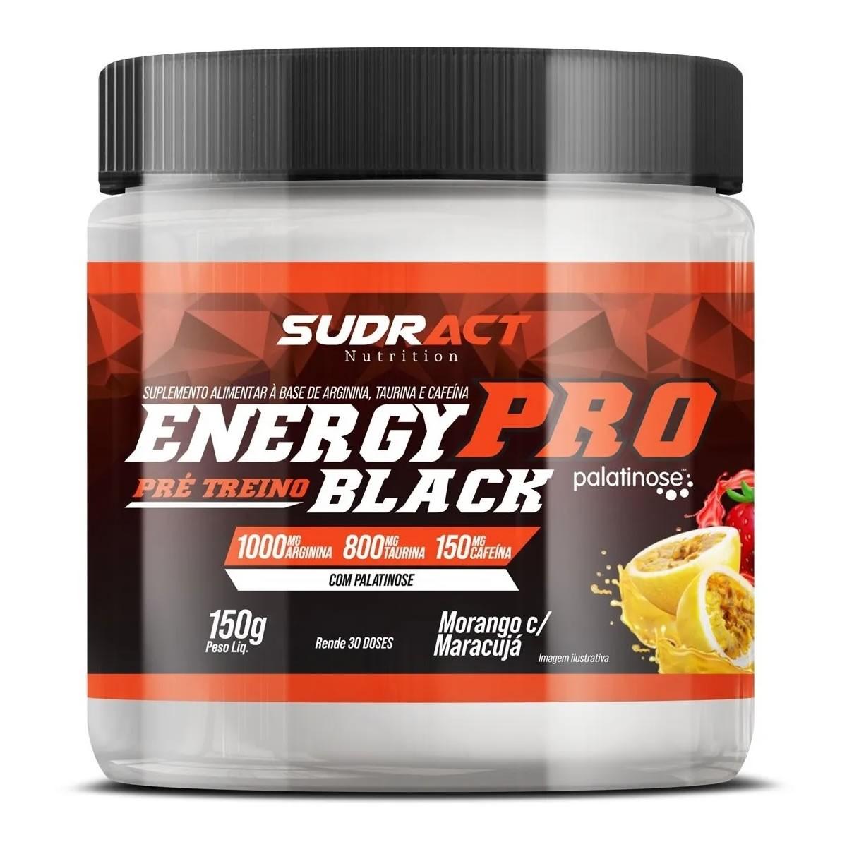 Energy Pro Black 150g - Sudract