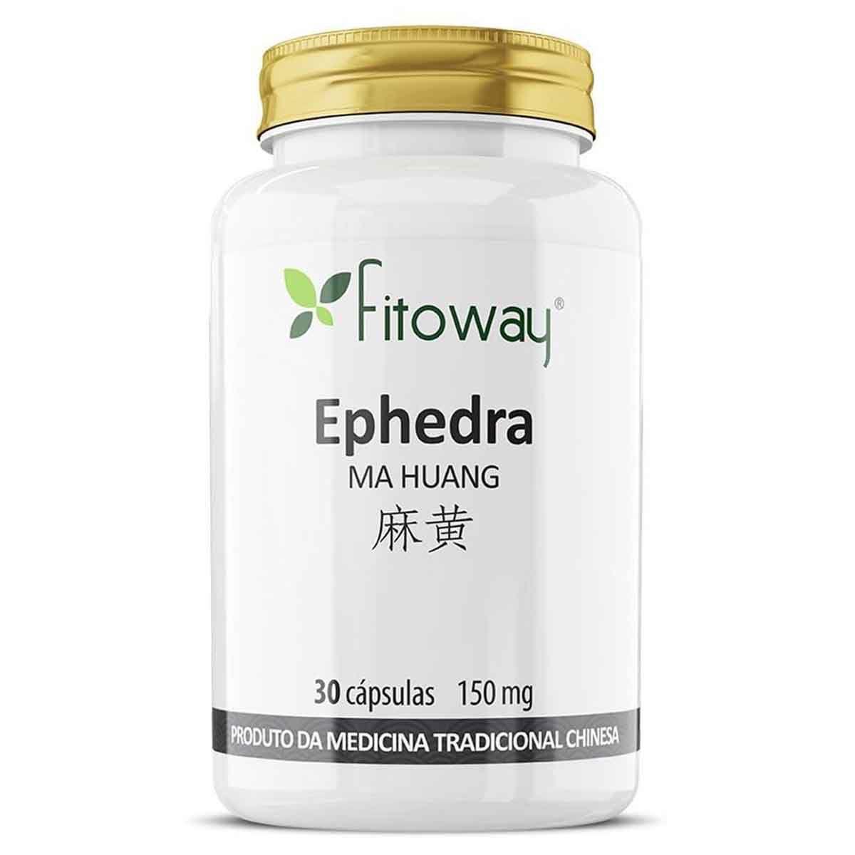 Ephedra 150mg 30 cápsulas - Fitoway