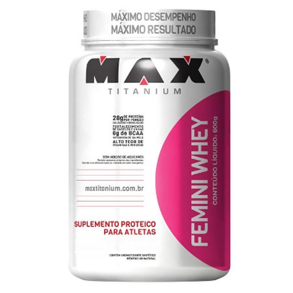Femini Whey 600 g - Max Titanium