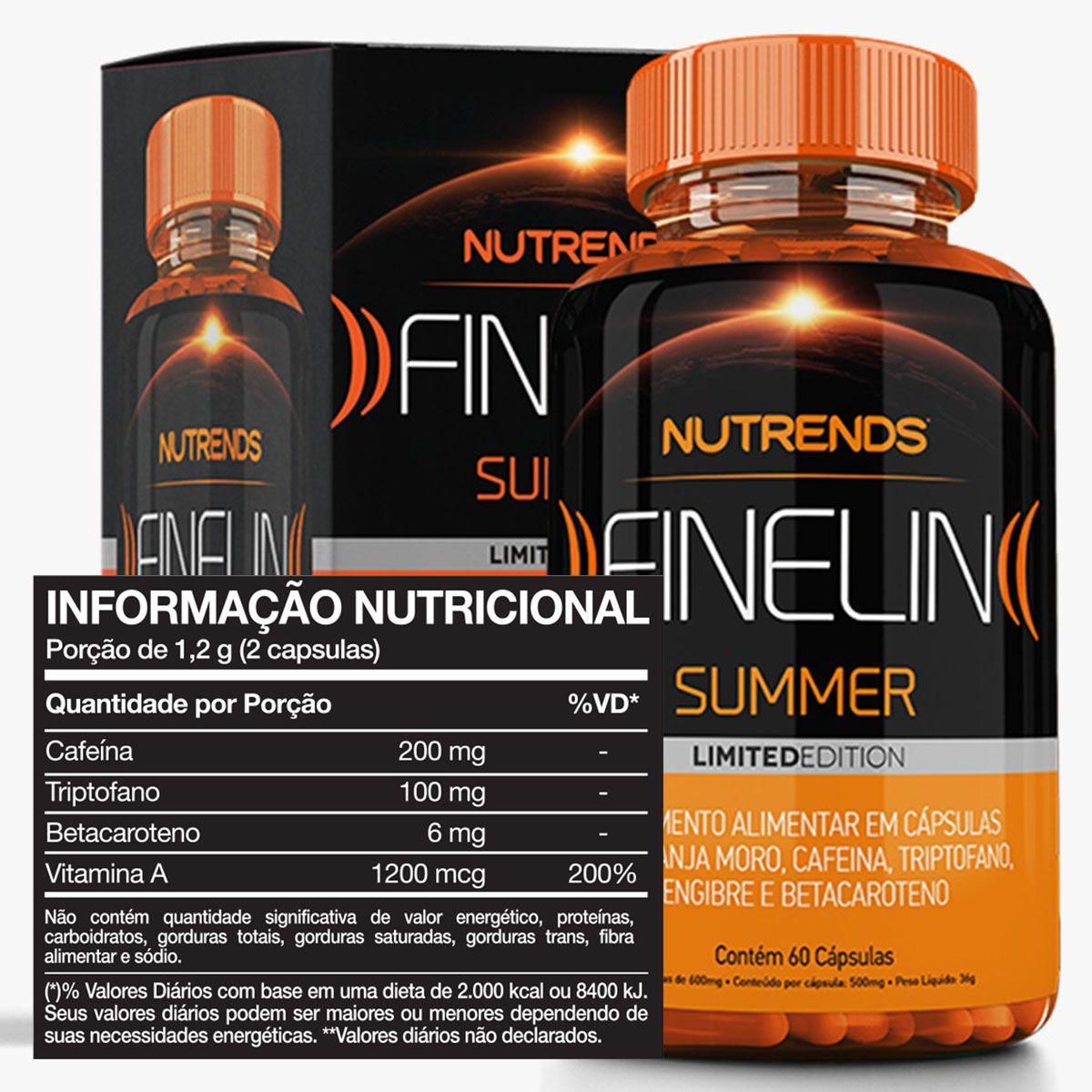 Finelin Summer 60 cápsulas - Nutrends