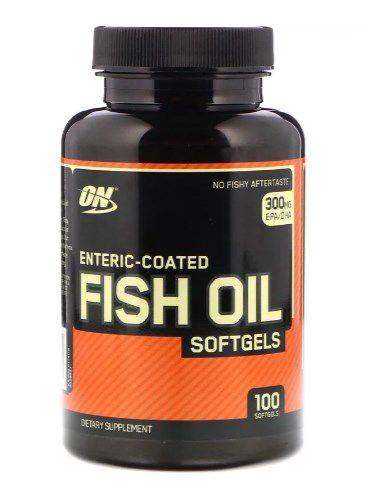 Fish Oil 100 cápsulas - Optimum Nutrition