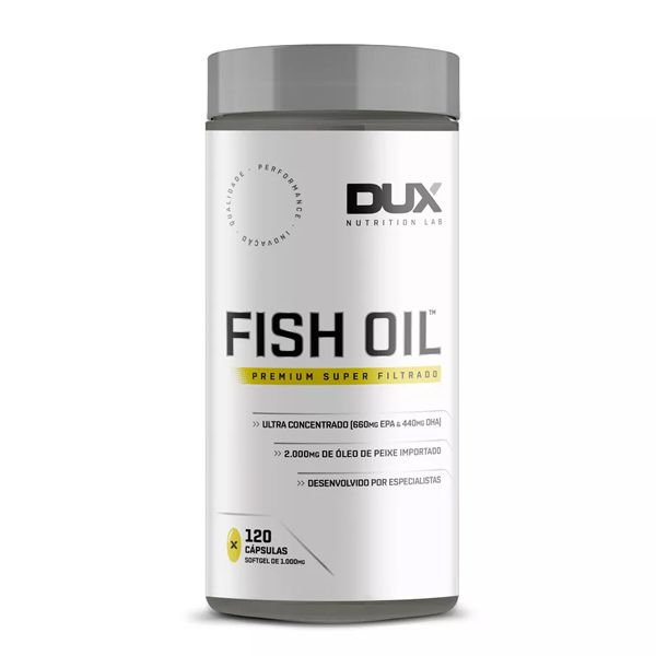 Fish Oil - 120 cápsulas - Dux Nutrition