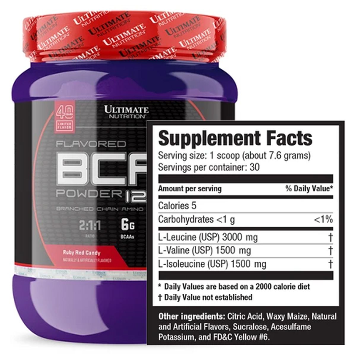 Flavored BCAA 12000 240g - Ultimate Nutrition