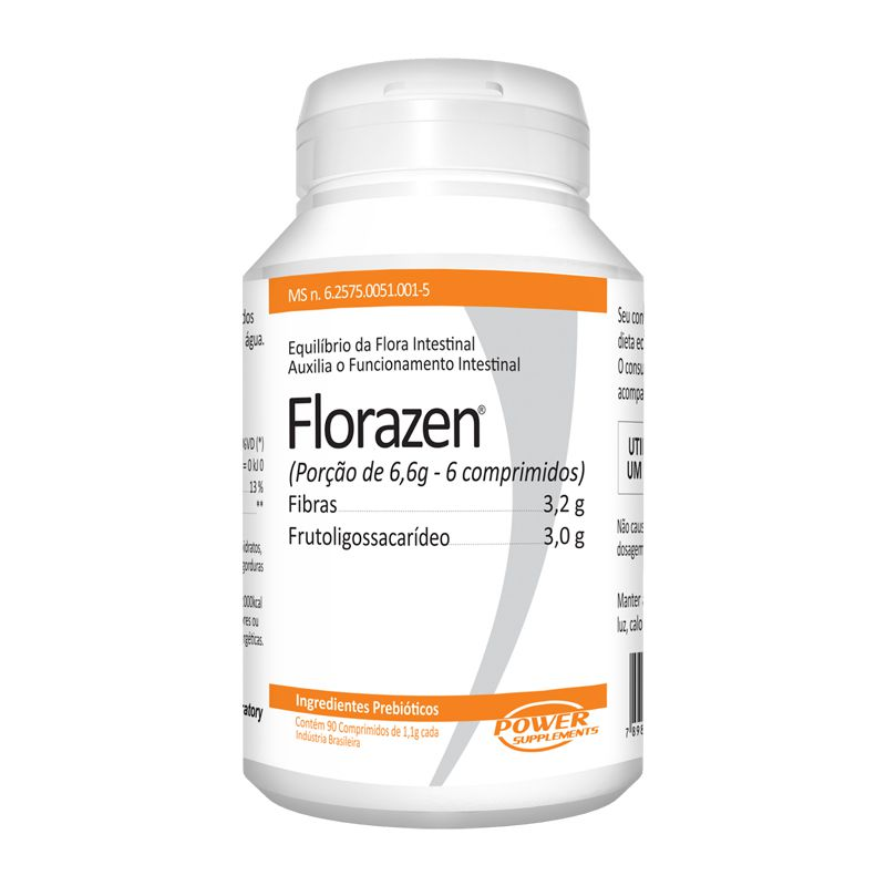 Florazen - 90 Cápsulas - Power Supplements