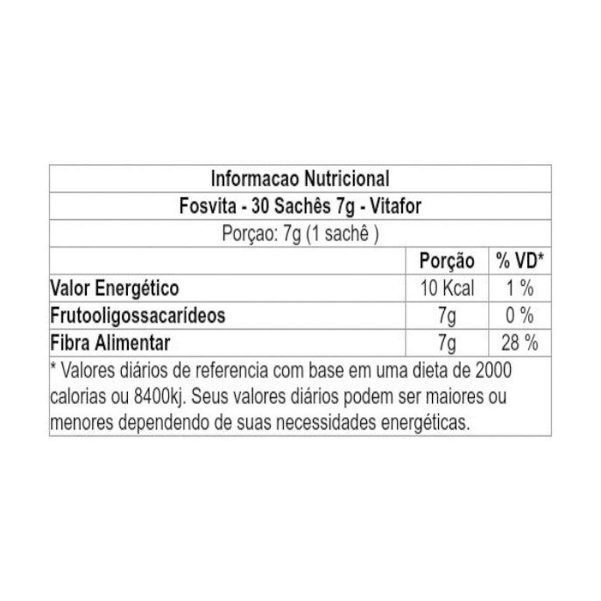 Fosvita 30 sachês - Vitafor