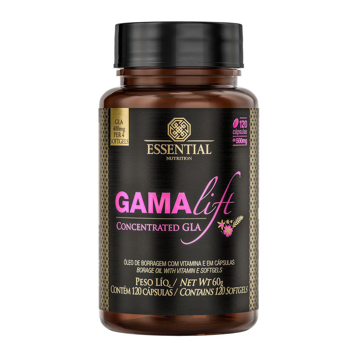 Gama Lift 120 Softgels - Essential Nutrition