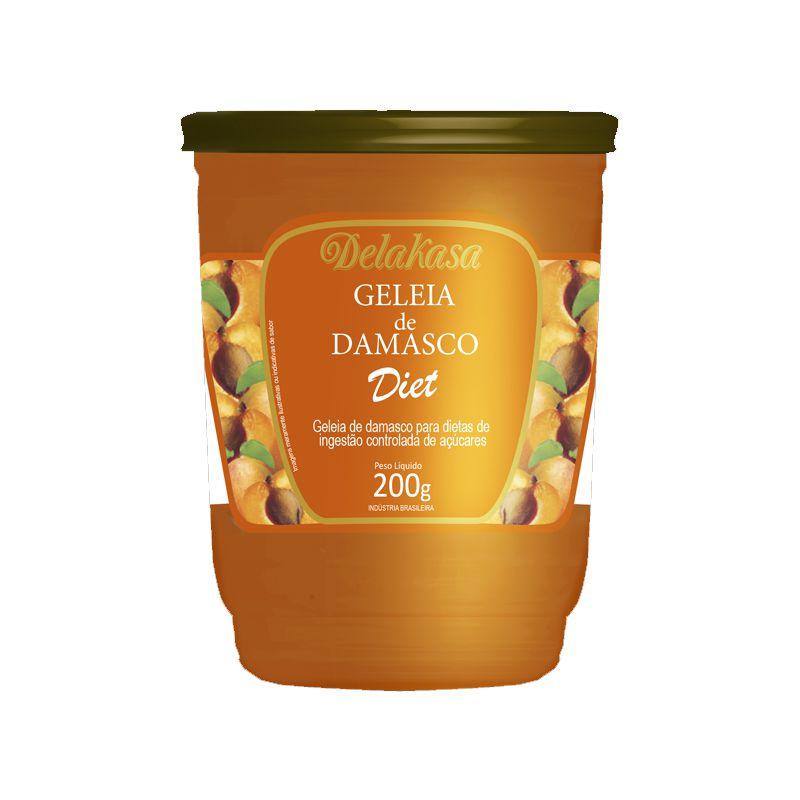 Geleia de Damasco Zero Açúcar - 200g - Vitao