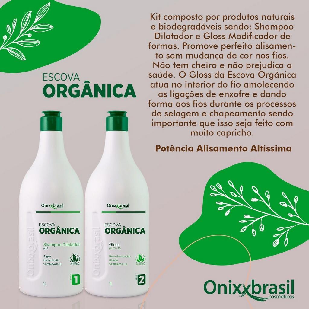 Gloss Blond Escova Orgânica 1L - Onixxbrasil