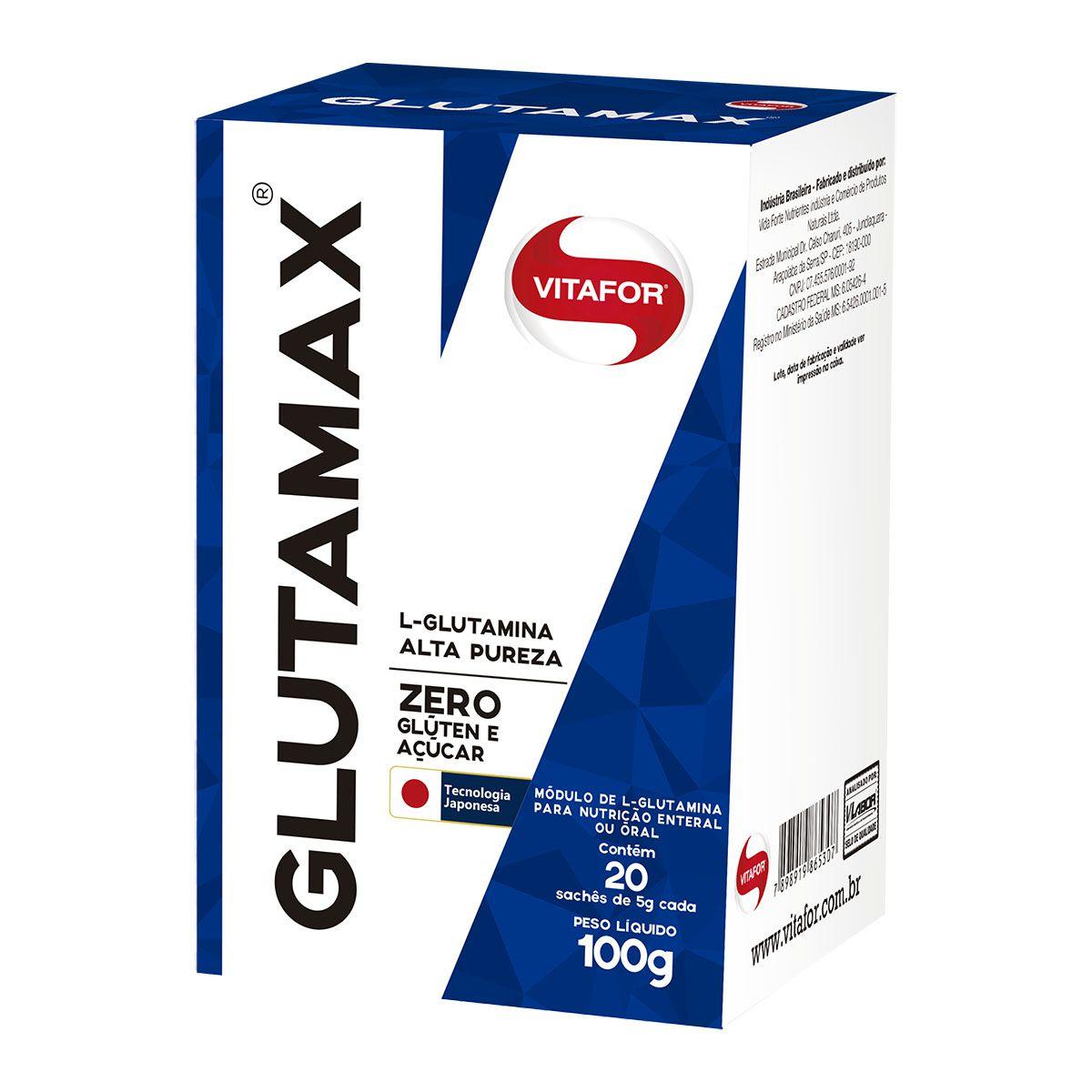 Glutamax 20 Sachês 5g - Vitafor
