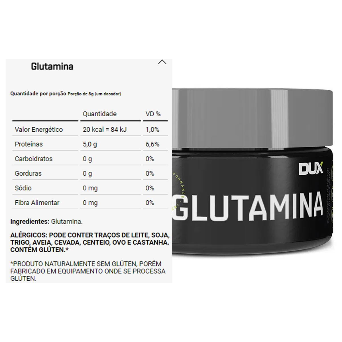 Glutamina 100g - Dux Nutrition
