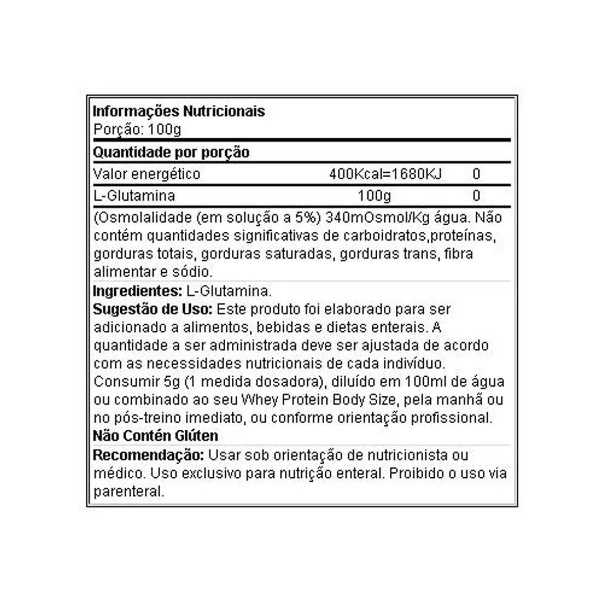 Glutamina 150 g - Integral Médica
