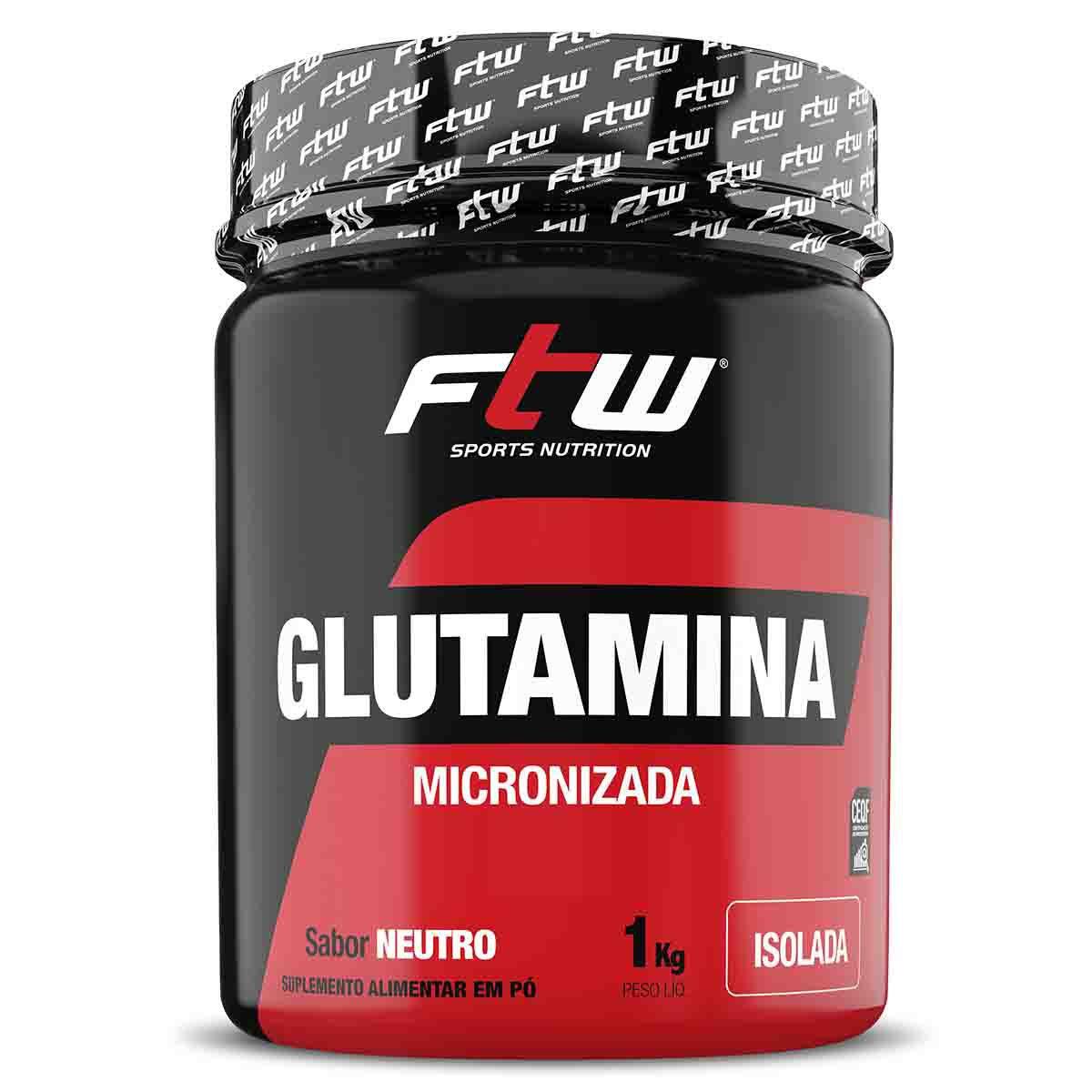 Glutamina 1kg - FTW