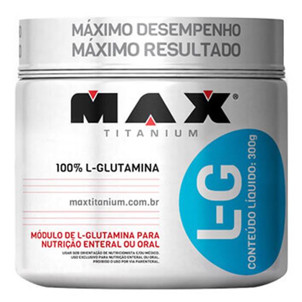 Glutamina 300 g - Max Titanium
