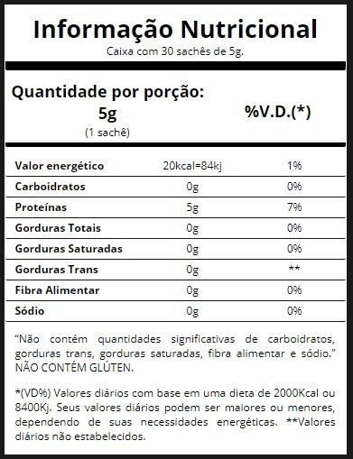 Glutamina 30 sachê/5g - Essential Nutrition