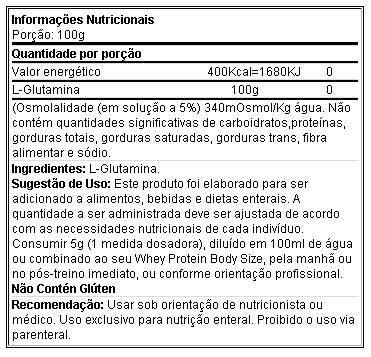 Glutamina 600 g - Integral Médica
