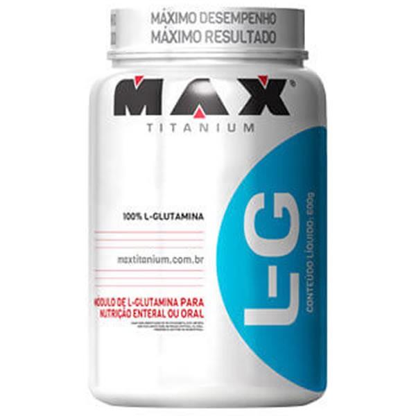 Glutamina 600 g - Max Titanium