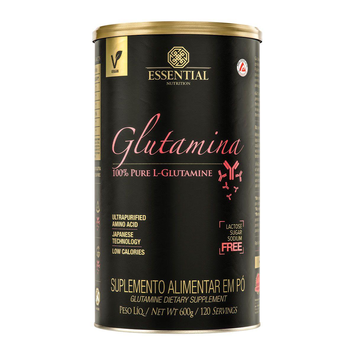 Glutamina 600g - Essential Nutrition