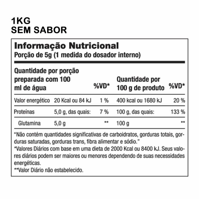 Glutamina Science 1000 Powder 1kg - Performance Nutrition