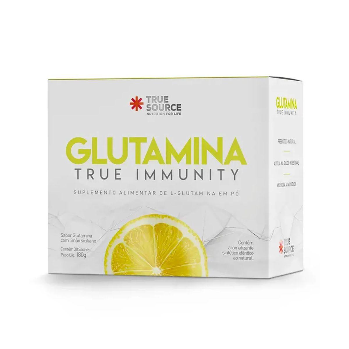 Glutamina True Immunity 30 Sachês - True Source