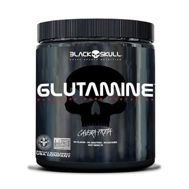 Glutamine - 150g - Black Skull