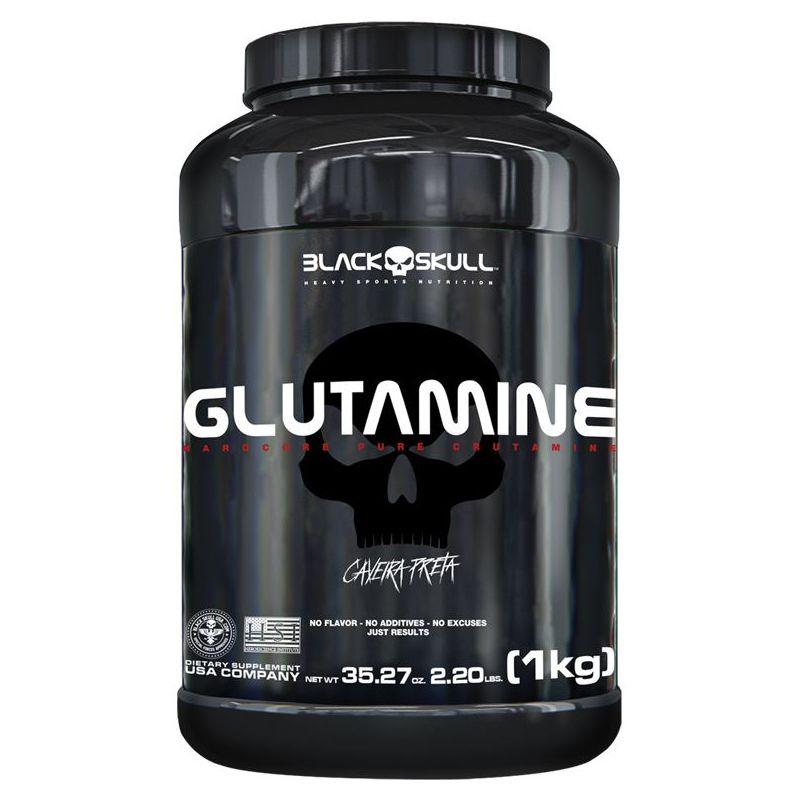 Glutamine - 1kg - Black Skull