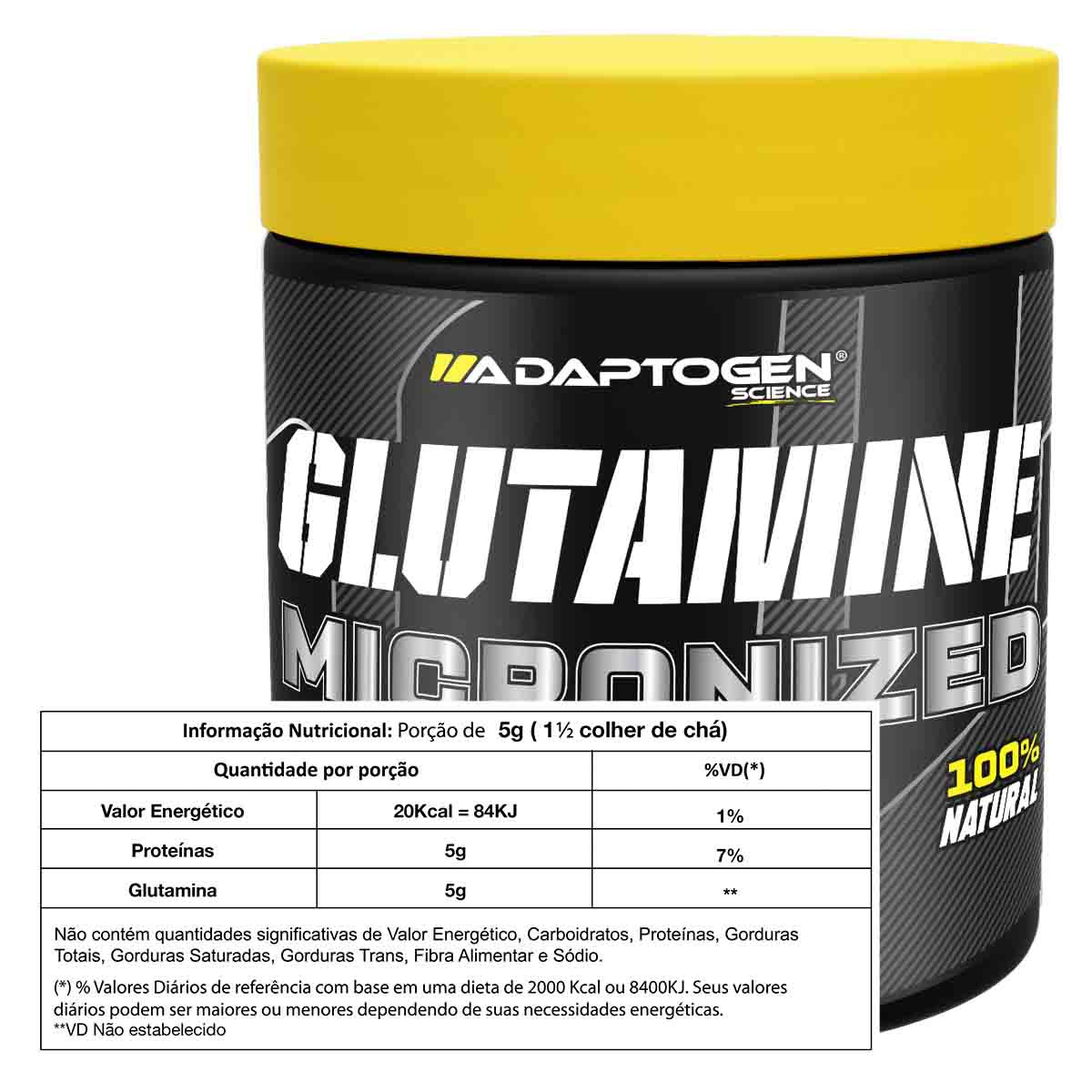Glutamine 300g - Adaptogen Science