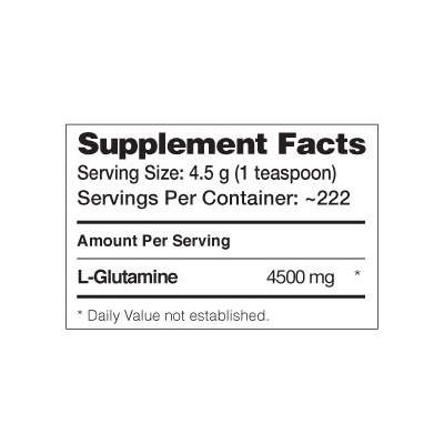Glutamine 500 g - Dymatize - Validade 06/17