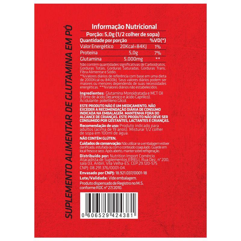Glutamine Decanoic - 300g - CRNVR