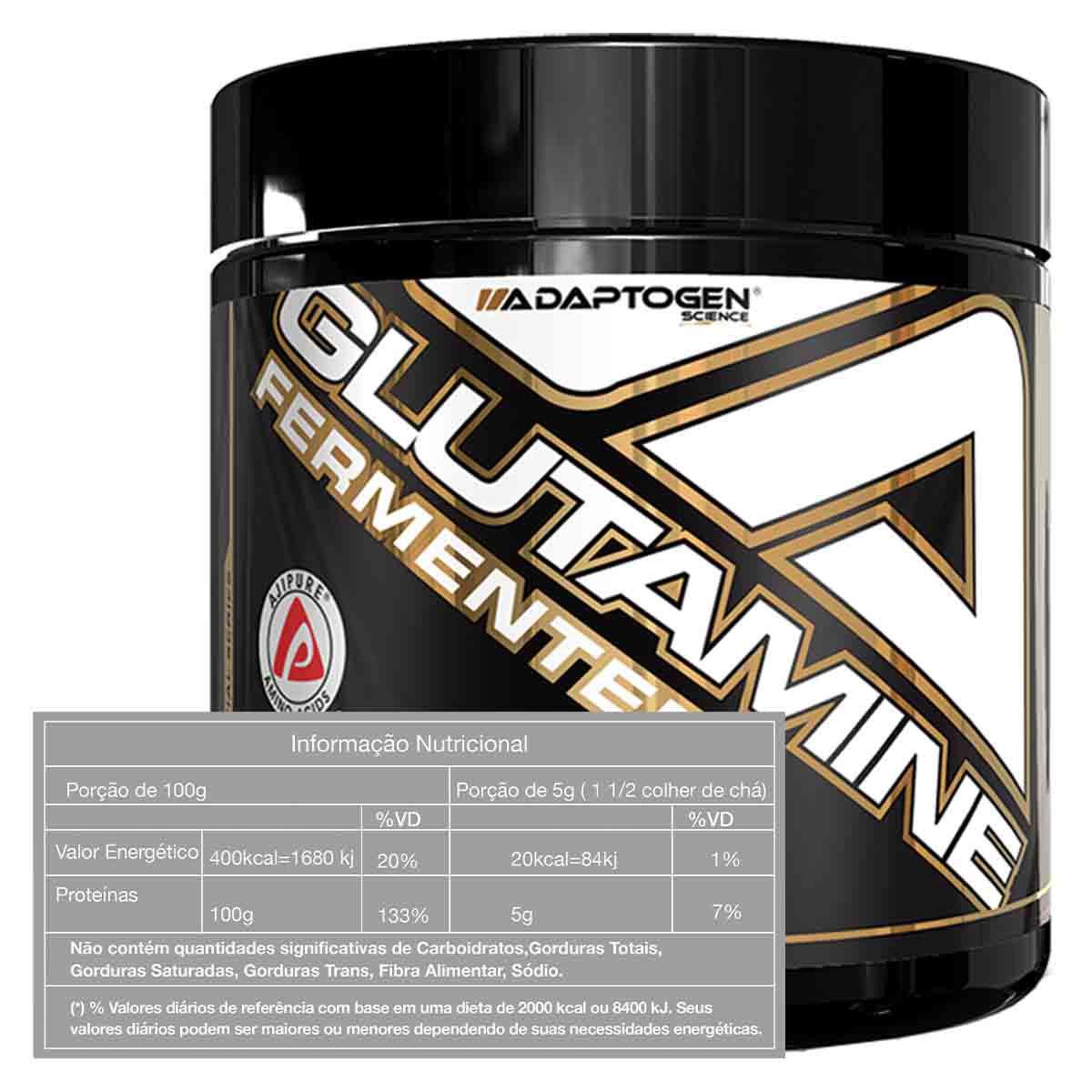 Glutamine Fermented 300g - Adaptogen Science